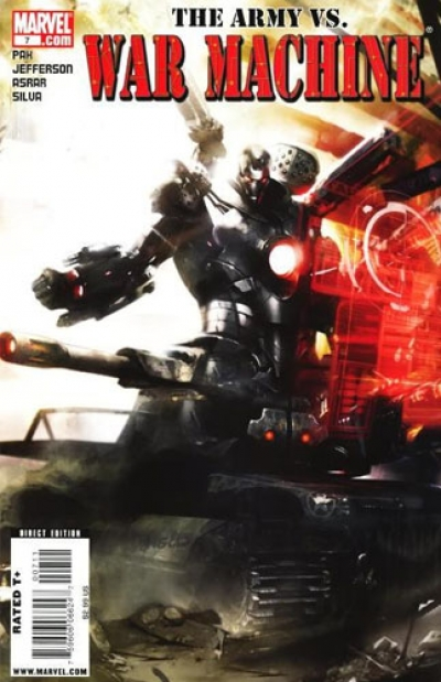 War Machine vol 2 # 7