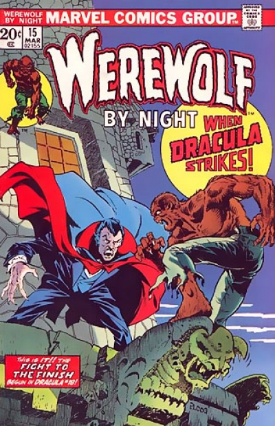 Werewolf by Night Vol 1 # 15