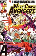 West Coast Avengers vol 1 # 4