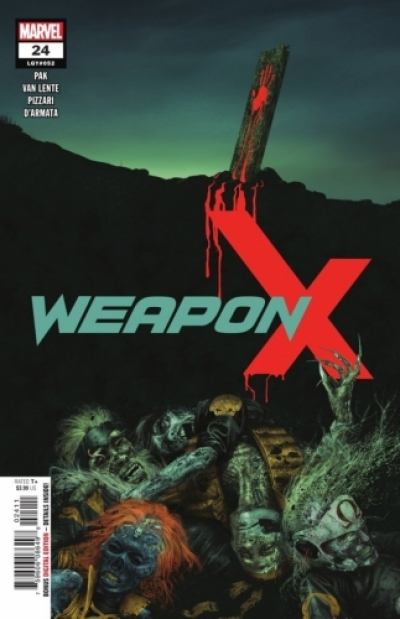 Weapon X vol 3 # 24