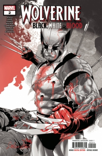 Wolverine: Black, White & Blood # 2
