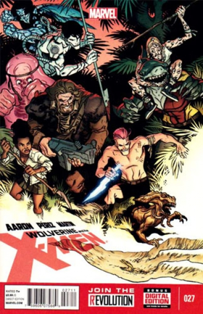 Wolverine and the X-Men vol 1 # 27