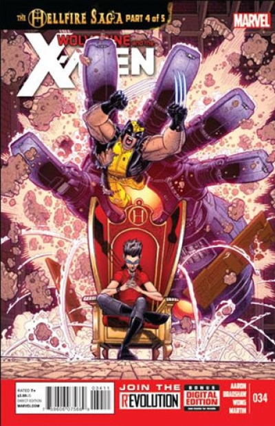 Wolverine and the X-Men vol 1 # 34