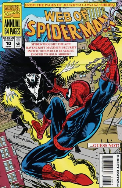Web of Spider-Man Annual # 10