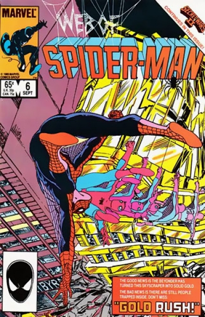 Web of Spider-Man vol 1 # 6