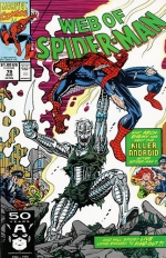 Web of Spider-Man vol 1 # 79