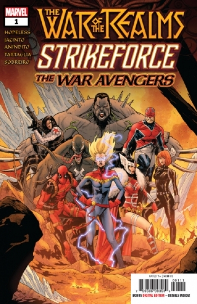 War of the Realms Strikeforce: The War Avengers # 1