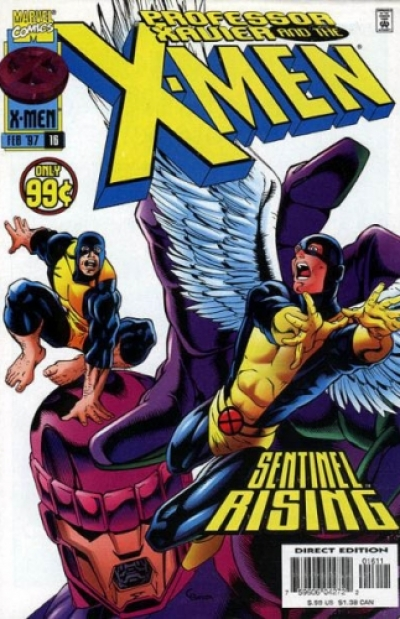 Professor Xavier And The X-Men # 16