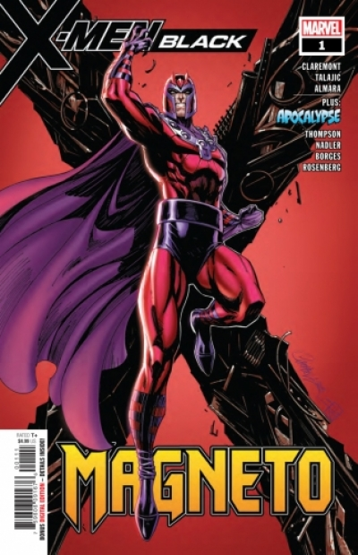 X-Men: Black - Magneto # 1