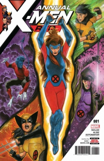 X-Men: Red Annual  # 1