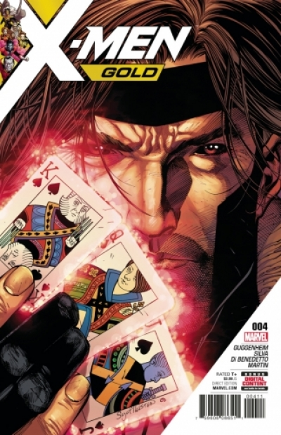 X-Men: Gold vol 2 # 4
