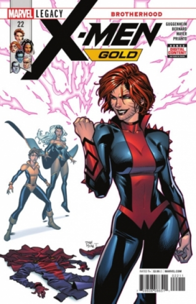 X-Men: Gold vol 2 # 22