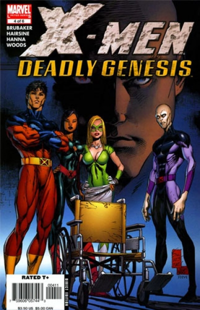 X-Men: Deadly Genesis # 4