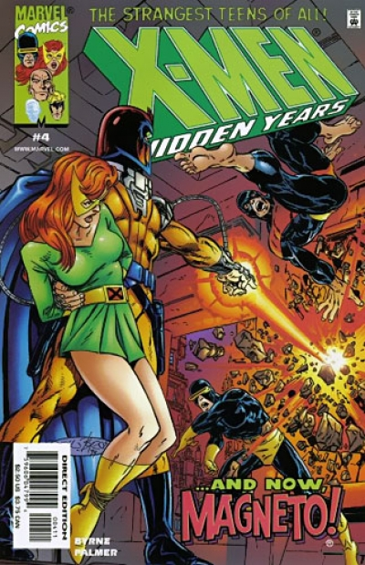 X-Men: Hidden Years # 4