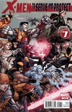 X-Men: To Serve and Protect # 1