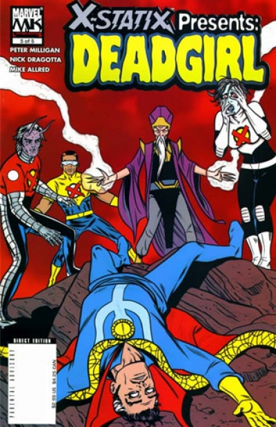 X-Statix Presents: Dead Girl # 5