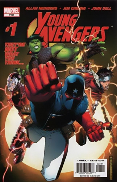 Young Avengers vol 1 # 1