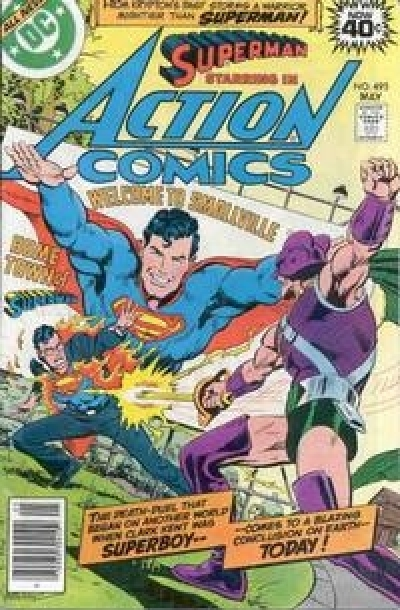 Action Comics vol 1 # 495