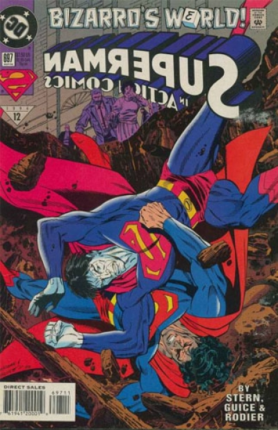 Action Comics vol 1 # 697