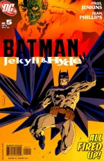 Batman: Jekyll & Hyde # 5