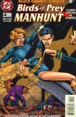 Birds of Prey: Manhunt  # 4