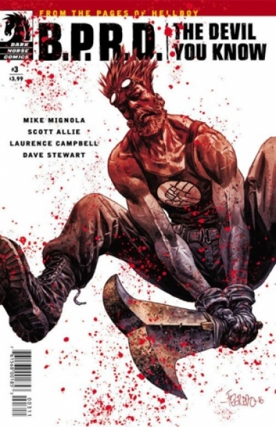 B.P.R.D.: The Devil You Know  # 3