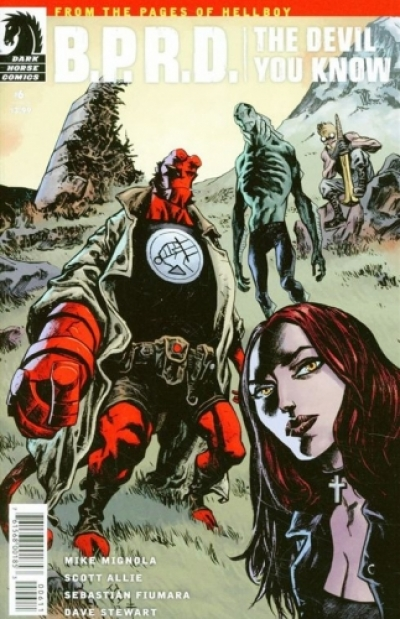 B.P.R.D.: The Devil You Know  # 6