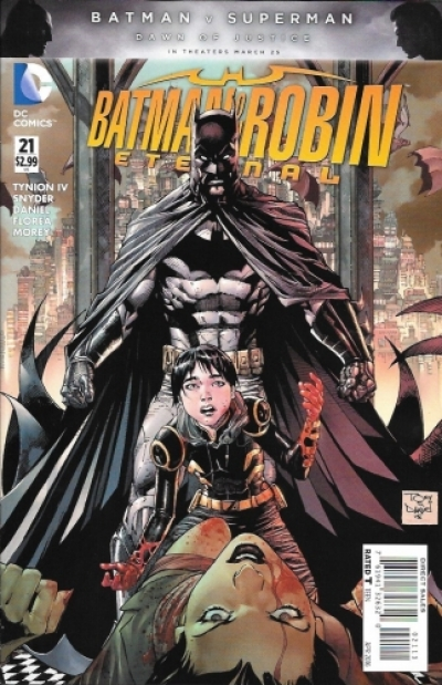 Batman & Robin Eternal # 21