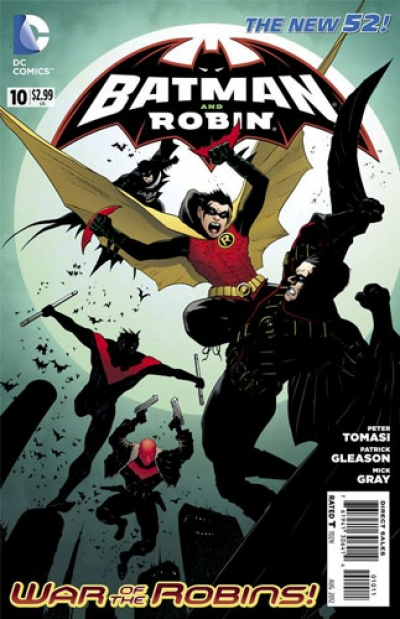 Batman and Robin vol 2 # 10