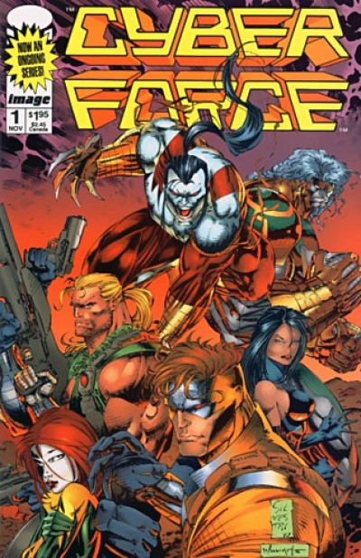 Cyberforce vol 2 # 1