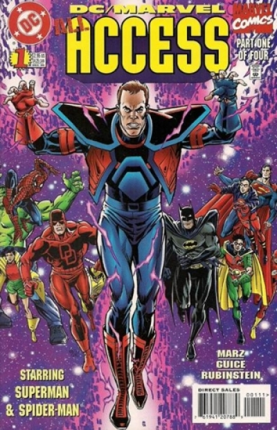 DC/Marvel: All Access # 1