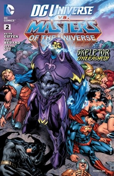 DC Universe vs. The Masters of the Universe # 2