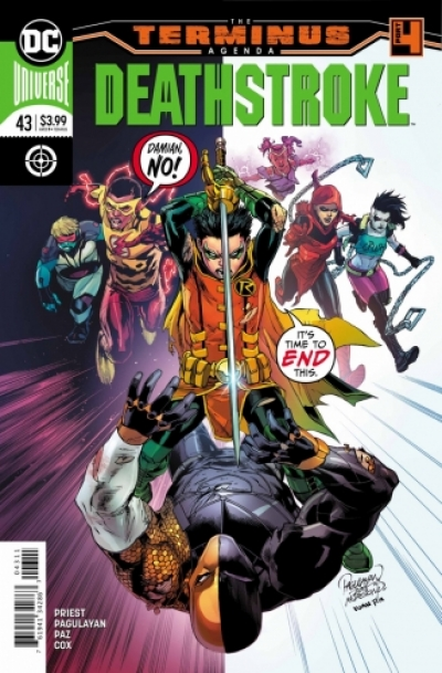 Deathstroke vol 4 # 43