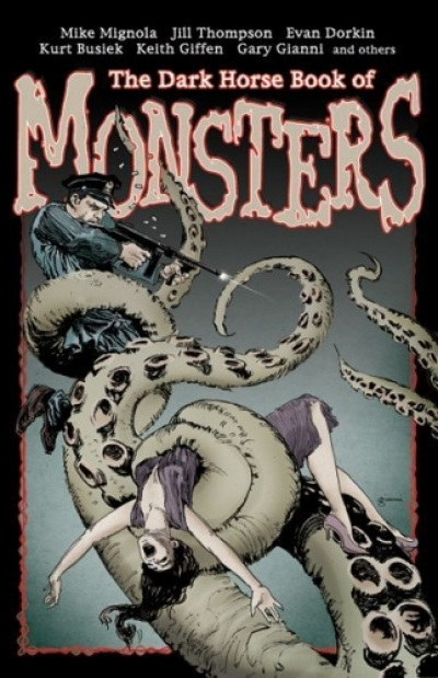 The Dark Horse Book of Monsters # 1