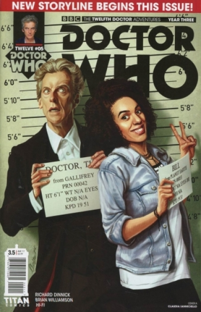 Doctor Who: The Twelfth Doctor vol 3 # 5