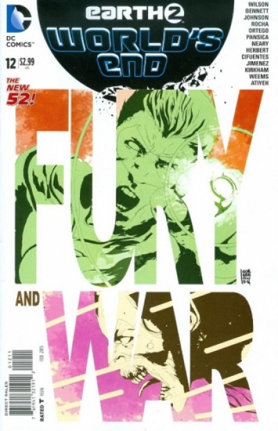 Earth 2: World's End # 12