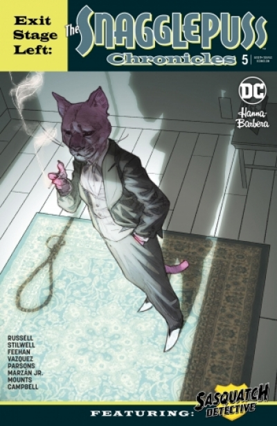 Exit Stage Left: The Snagglepuss Chronicles # 5
