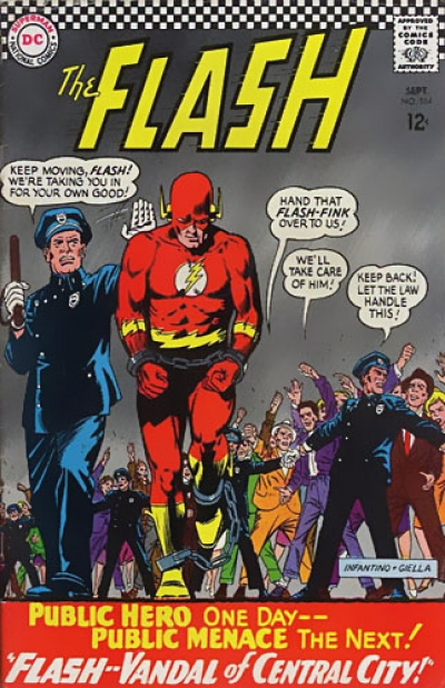 Flash vol 1 # 164