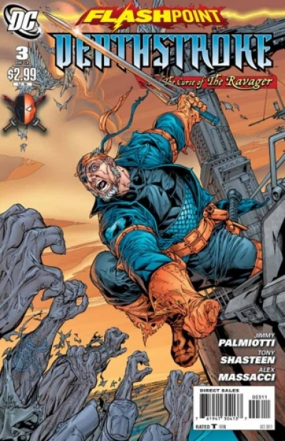 Flashpoint: Deathstroke & The Curse of the Ravager # 3