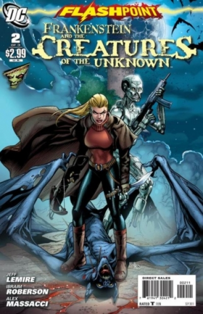 Flashpoint: Frankenstein & The Creatures of the Unknown # 2