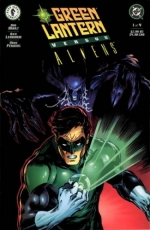Green Lantern vs. Aliens # 1