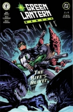 Green Lantern vs. Aliens # 2