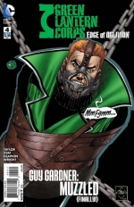 Green Lantern Corps: Edge of Oblivion # 4