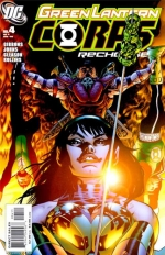 Green Lantern Corps: Recharge # 4