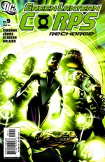 Green Lantern Corps: Recharge # 5