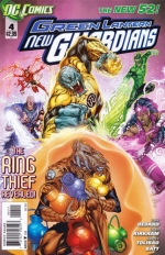 Green Lantern: New Guardians # 4