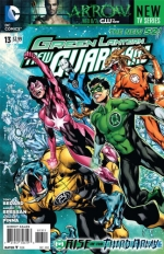 Green Lantern: New Guardians # 13