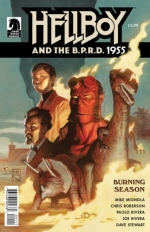 Hellboy and the B.P.R.D.: 1955 - Burning Season # 1