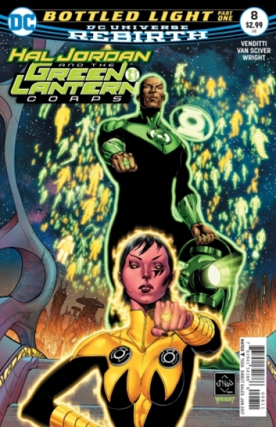 Hal Jordan And The Green Lantern Corps  # 8