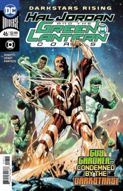 Hal Jordan And The Green Lantern Corps  # 46